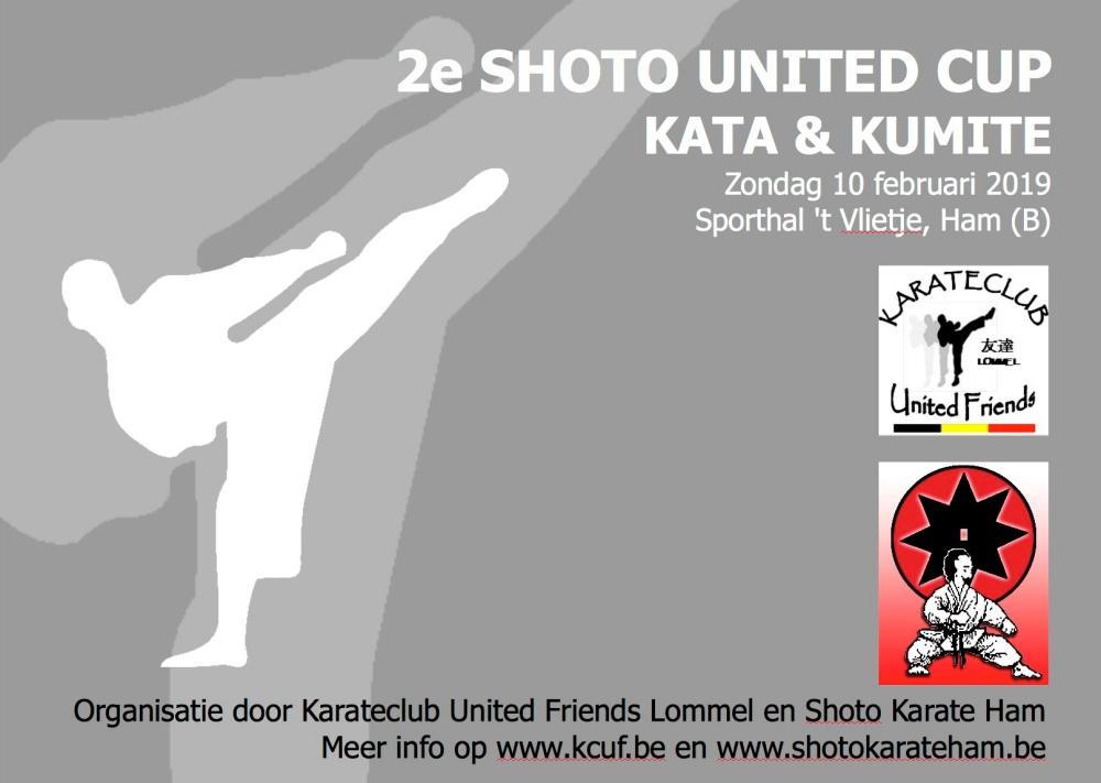2e shoto united cup 2019 affiche